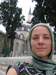 my in front of the Atik Valide Mosque