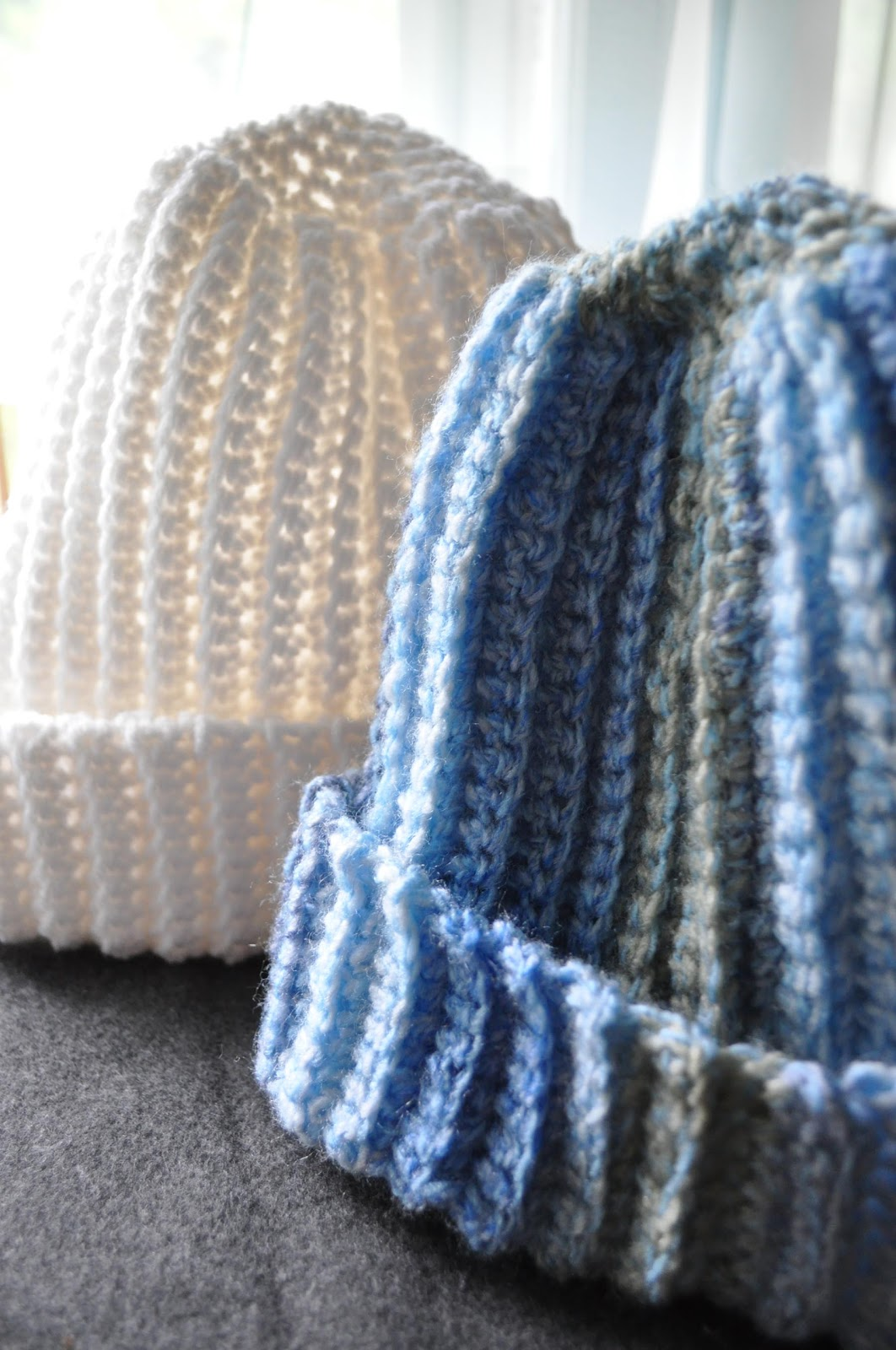 Crochet Ribbed Hat : Ribbed Winter Hat A Girl and Her Yarn