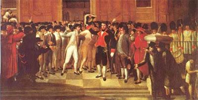 DIBUJO DEL 19 DE ABRIL DE 1810