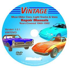 eAutoRepair Vintage cars