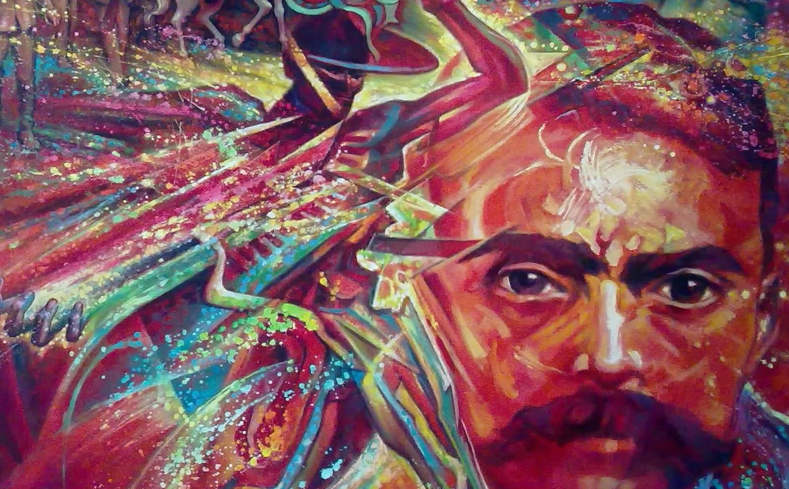 Ciencia hist rica zapata y la revoluci n mexicana for Emiliano zapata mural