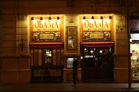 Irish pub Obama, in Barcelona, Spain