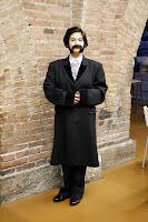 Yo disfrazada de Narcís Monturiol en el Museu Marítim
