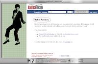 Captura de pantalla de Internet Archive... lo que tienen de la web de Jacko