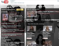 Captura de pantalla de un canal en Youtube con toda la primera temporada de Charlie's Angels subida por una usuaria de Brasil en donde la serie se titulaba As Panteras