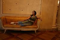 Descansando en la Scala