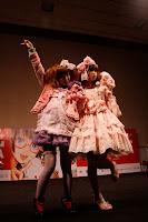 Embajadoras Kawaii en el desfile de moda