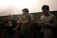Presentación película Uchuu sho e youkoso por el director Koji Masunari y el productor en Sitges 2010