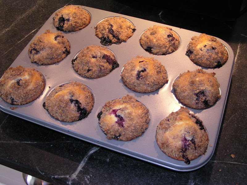 Shirley's World: To Die For Blueberry Muffins!