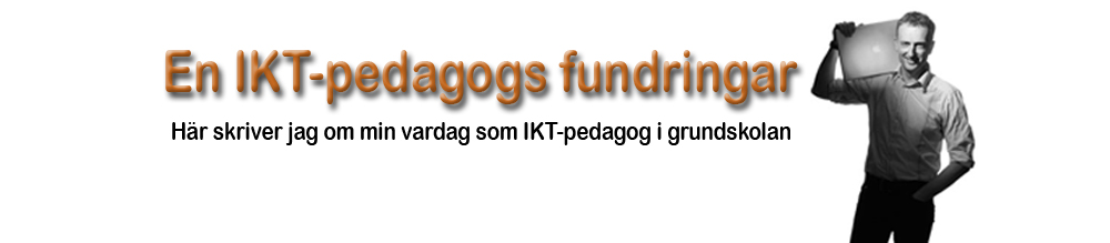 En IKT-pedagogs fundringar