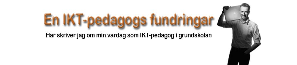 En IKT-pedagogs fundringar