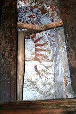 Pintura Mural no interior da Capela de São Miguel