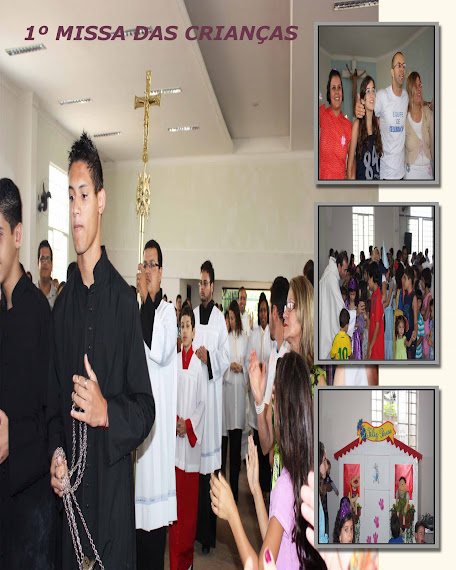 1º missa das crianças
