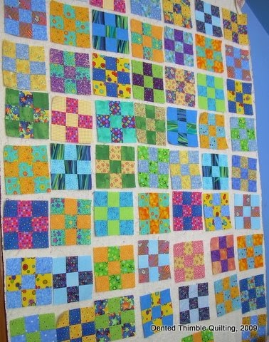 dented thimble quilting what 39 s on my design wall and a handy spoon