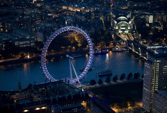 Ночной Лондон. Фотоподборка