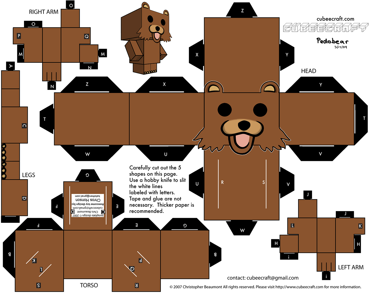 Minecraft Cutouts