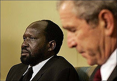 George Bush & Salva Kiir