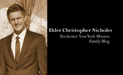 Elder Nicholes - Rochester New York