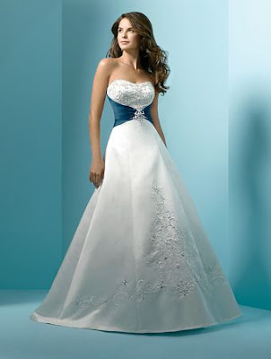 The Wedding Gown Dresses  with detail.