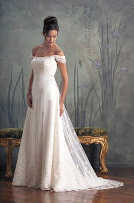 The Wedding Gown with Crystal and Details.