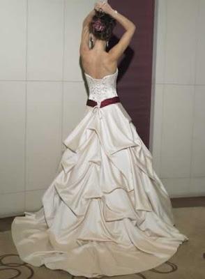 Design Wedding Gown with Belt