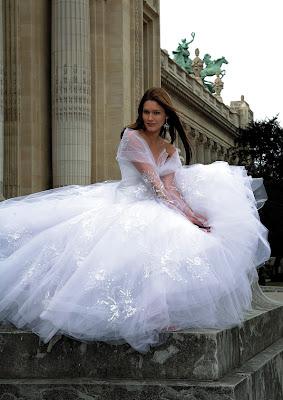 Wedding Gown unique design