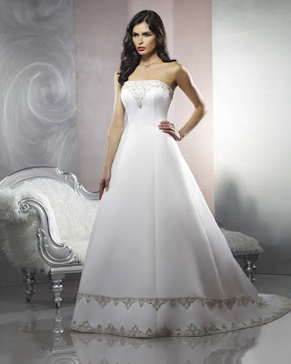 Beautiful Dress design A-Line
