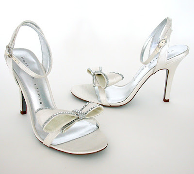 Shoes with high heels for weddings