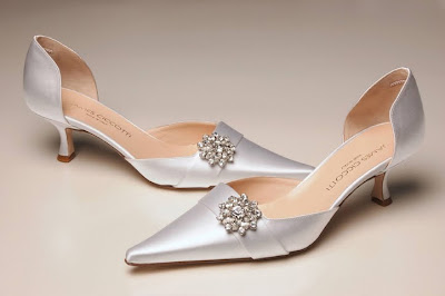 Wedding shoes with accessories swarovski