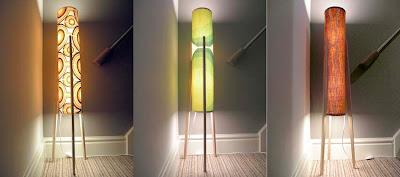 Tom Sutton Designs Aero Organic Pop Retro Floor Lamp