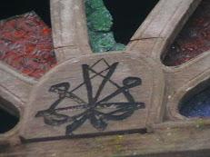 Lambang Muhammad Timbal Balik yang ditemui di pekan Bachok Kelantan.