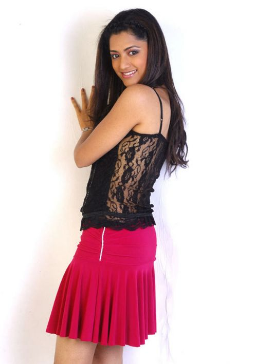 Mamta Mohandas in Hot Red Skirt