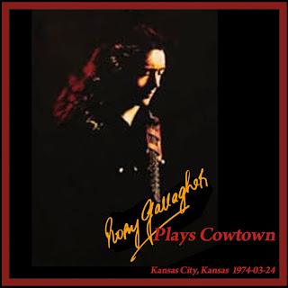 Cotown Ballroom, Kansas City, 24 mars 1974 [Bootleg] Rory+Gallagher+-+Cowtown+Ballroom+-+Front