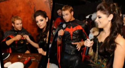 Ashley Greene & Kellan Lutz Halloween Costumes Party 2009