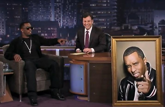 Sean Diddy Combs Birthday Surprises For Jimmy Kimmel