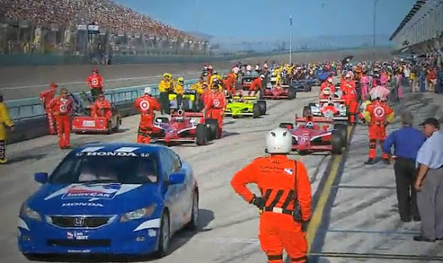 Indycar 2009 Final Weekend Rocks At Homestead-Miami Speedway