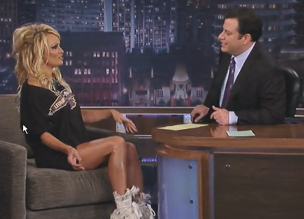 Pamela Anderson Inerview on Jimmy Kimmel Live