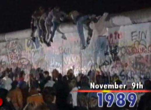 Cold War Ended With Germany Berlin Wall Collapse On Nov 9th 1989