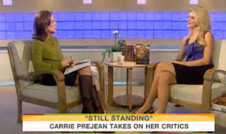 Carrie Prejean On Today Show Talk About Adult Tape