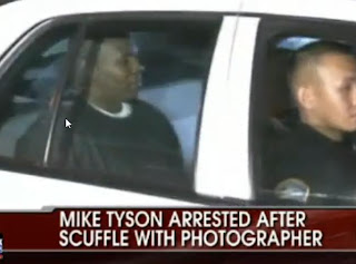 Mike Tyson Arrestest In LAX For Assualting Photographer