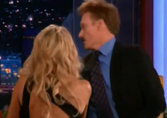 Heather Locklear Slaps Conan O'Brien On Tonight Show