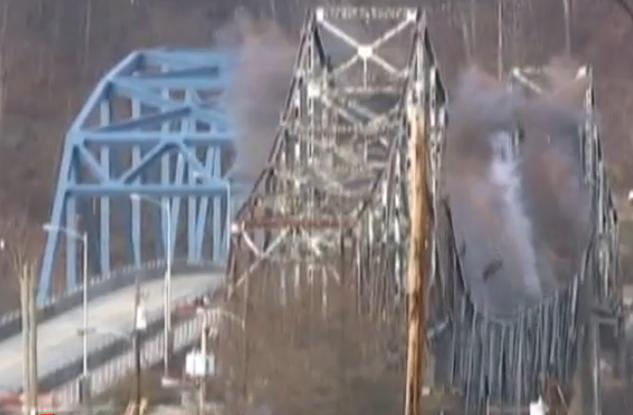 PA Worst Bridge Imploded