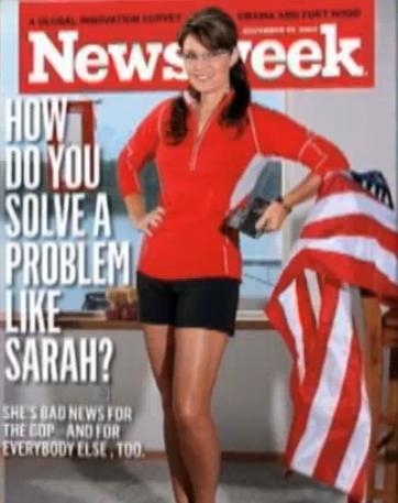 Sarah Palin Calls Newsweek Cover Sexist