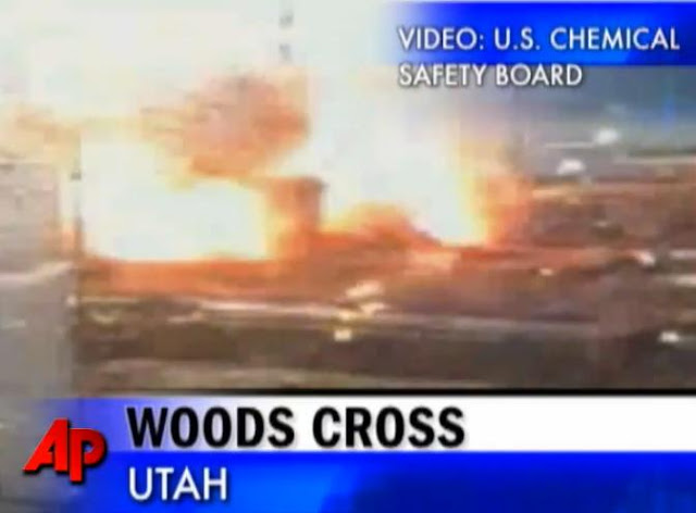 Utah Refinery Ruptured Pipe Explosive Blasts