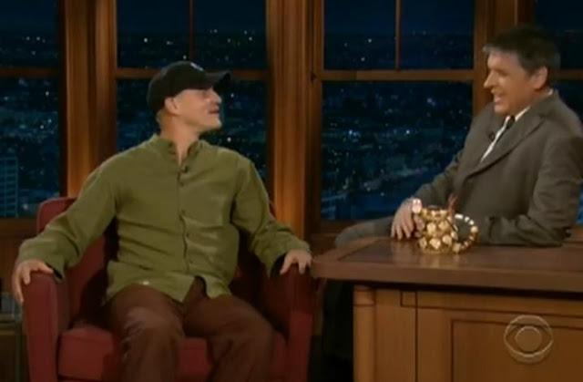 Woody Harrelson Interview On Late Late Show With Craig Ferguson