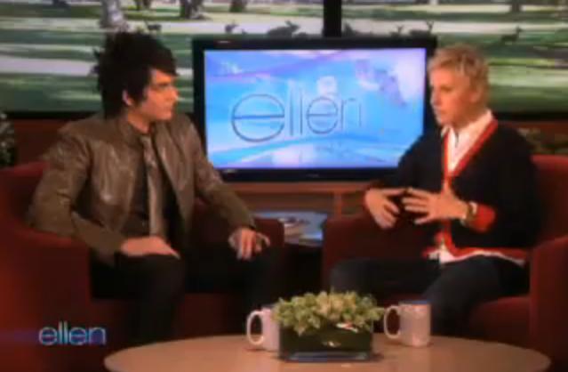 Adam Lambert Interviews On Ellen Show