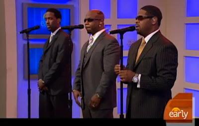 Boyz II Men Performs 'Amazed' Live-Second Cup Café