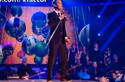 Robbie Williams Performs 'You Know Me'-X Factor 2009 Live Show 10