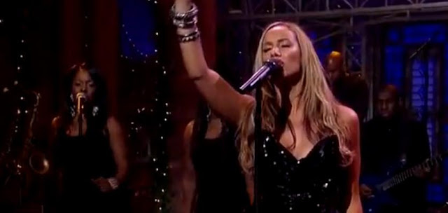 Leona Lewis Performs 'Echo' On Late Show With David Letterman