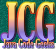 Java Code Geeks Java Community Blogging